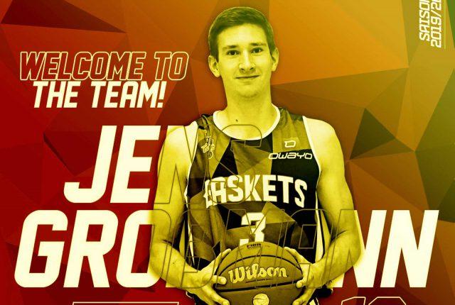 Jens goes Uni Baskets!